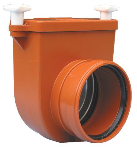 Механический канализационный затвор HL710.0 dn110