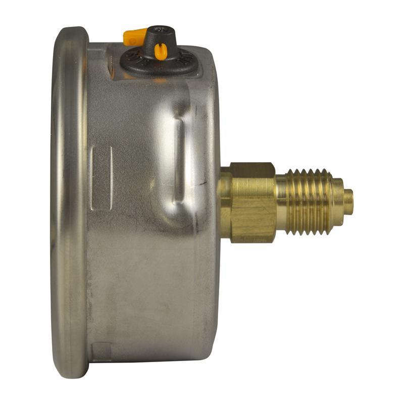 Манометр с трубкой Бурдона, гидрозаполненный WIKA 100 мм 10 бар 1,0 тип 213.53