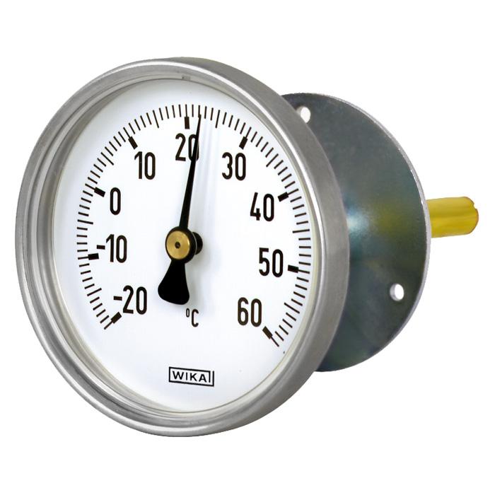 Биметаллический термометр WIKA 80 мм 0...+80 C тип A48