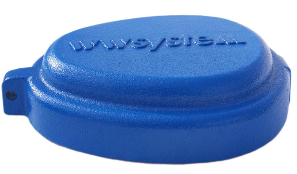 Крышка для скважины WWSystem K-133 (чугун)