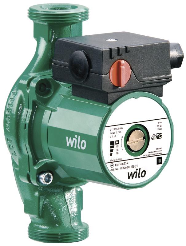 Циркуляционный насос Wilo Star-RS 30/8