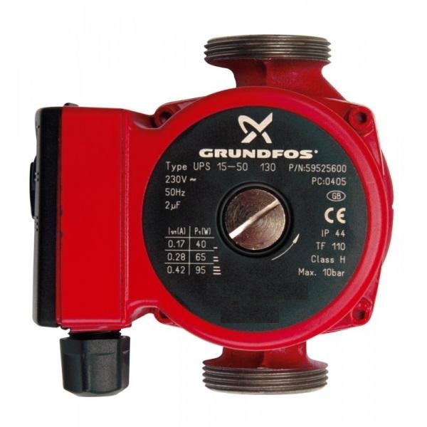 Циркуляционный насос Grundfos UPS 25-50 130